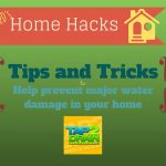 T2D's Home Hacks – water leak
