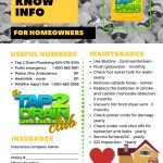 Free – Good to know info for homeowners Checklist
