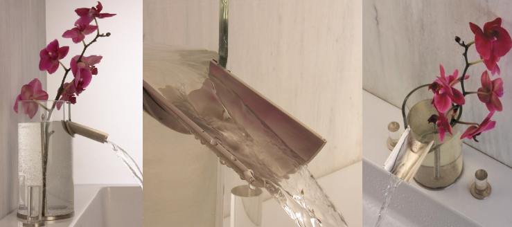 aquabrass flower faucet