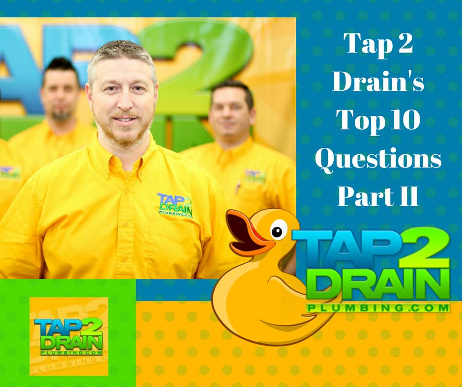 tap 2 drain plumbing, drain cleaning, poly b